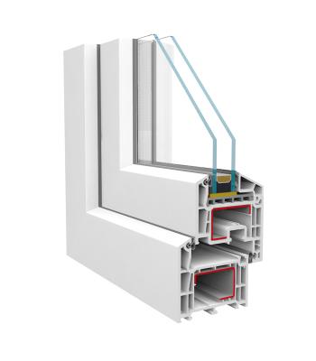 seccion ventana brugmann pvc