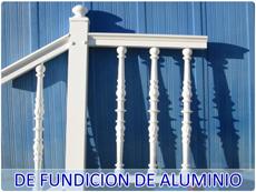 Barandillas de fundición de aluminio
